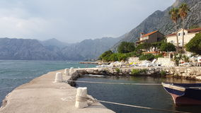 Bay of Kotor Stock Images