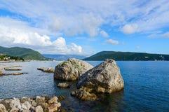 Bay of Kotor, Herceg Novi, Montenegro Royalty Free Stock Photos