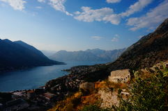 Bay of Kotor stock photography