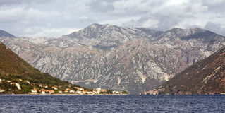 The Bay of Kotor, Montenegro Royalty Free Stock Images