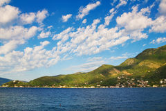 Bay of Kotor, Montenegro. Bay of Kotor (Boka Kotorska), Montenegro Royalty Free Stock Photo