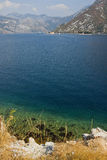 The Bay of Kotor in Montenegro Stock Photos
