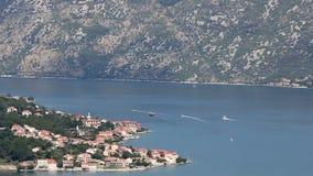 Bay of Kotor Montenegro Adriatic sea