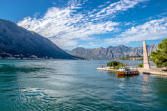 Bay of Kotor. Montenegro Balkans Stock Image