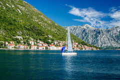 Bay of Kotor. Montenegro Balkans Stock Photography