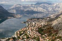 Bay of Kotor, Montenegro. Boka kotorska. Royalty Free Stock Photography