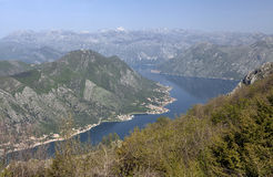 Bay of Kotor Royalty Free Stock Photo
