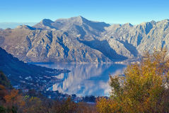 Bay of Kotor. Montenegro Stock Image