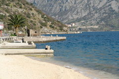 Bay of Kotor in Montenegro Royalty Free Stock Image