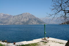 Bay of Kotor in Montenegro Royalty Free Stock Images