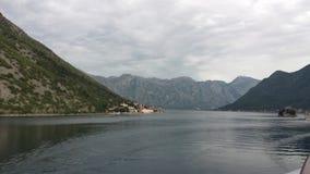 Bay of Kotor, Montenegro Royalty Free Stock Image