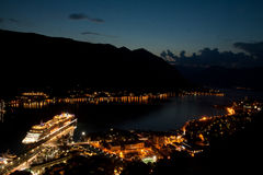Bay of Kotor Royalty Free Stock Photography