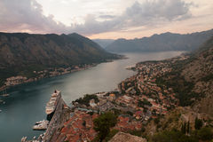 Bay of Kotor Stock Photo