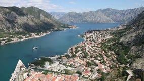 Bay of Kotor panorama Montenegro summer