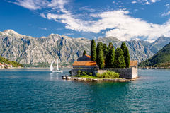 Bay of Kotor.Perast. Royalty Free Stock Photos