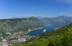 The Bay of Kotor Royalty Free Stock Photo
