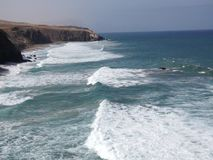 Bay of La Pared stock video footage