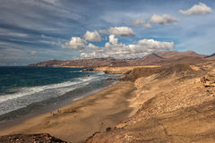 Bay of La Pared, Fuerteventura, Canary Islands Royalty Free Stock Photography