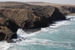 Bay of La Pared Royalty Free Stock Image
