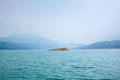 Bay landscape. This is a bay landscape in  sunny Royalty Free Stock Photos