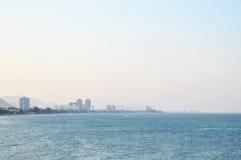 Bay landscape royalty free stock image