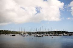 Bay landscape in Kinsale Royalty Free Stock Images