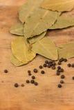 Bay leaf herb Royalty Free Stock Photo