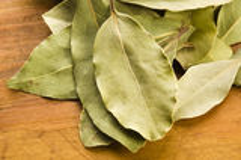 Bay leafs Stock Photos