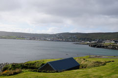 Bay in Lerwick Royalty Free Stock Photos