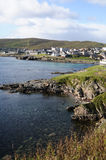 Bay in Lerwick Royalty Free Stock Photo