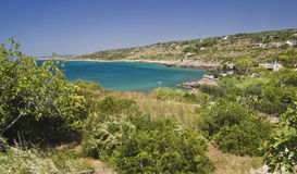 Bay of leuca royalty free stock images