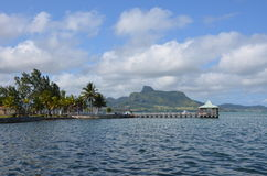 Bay of Mahébourg. Bay of Mahébourg in the south-east of Mauritius Royalty Free Stock Image