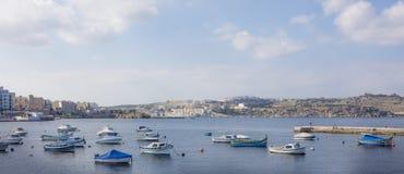 Bay in Malta Royalty Free Stock Photography
