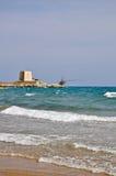 Bay of Manacore, Apulia, Italy Stock Image