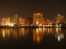 bay manila skyline στοκ φωτογραφία με δικαίωμα ελεύθερης χρήσης