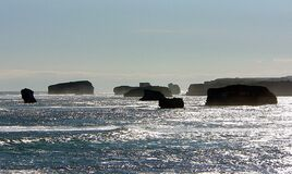 Bay of Martyrs.Victoria.Aust. Royalty Free Stock Images