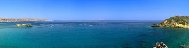 Bay in mediterranean sea Stock Photography