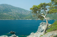 Bay of Mediterranean sea Stock Image