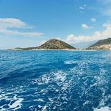 Bay in the mediterranean Stock Photos