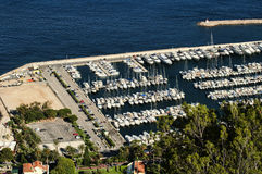 Bay of Monaco and Monte Carlo Stock Images