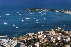 Bay of Monaco and Monte Carlo Stock Photos