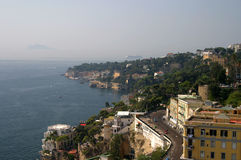 Bay of Naples Royalty Free Stock Image