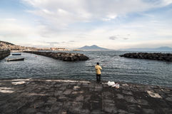 Bay of Naples Royalty Free Stock Photos