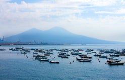 Bay of Naples,  island Capri Stock Photo