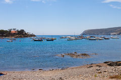 Bay near Cadaques city Catalonia, Spain Stock Images