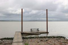Bay near Esbjerg at high tide. Denmark, Europe. Stock Image