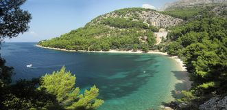 A bay near Zivogosce in Croatia Stock Photography