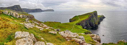 Bay of Neist Point Isle of Skye, Scotland Stock Photography