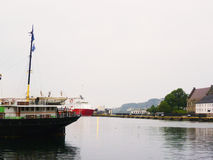 Bay in Norway Stock Photo