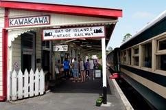 Bay Of Islands Vintage Railway Kawakawa NZ Royalty Free Stock Image